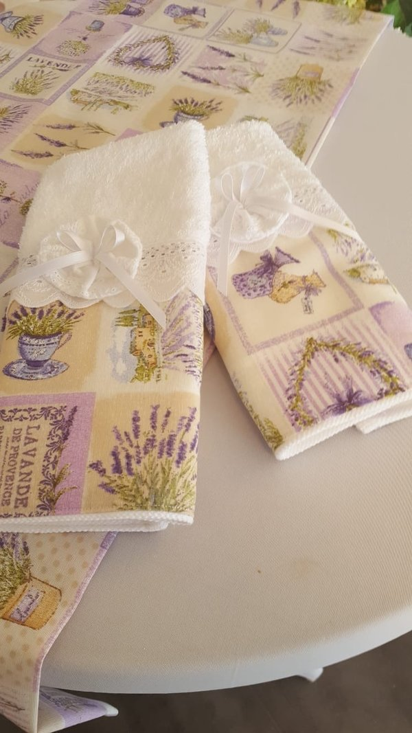 Gästetuch Lavendel