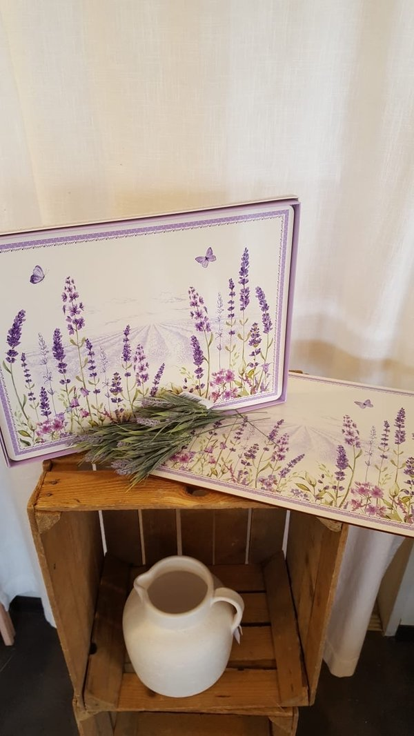 Tischset Lavendel